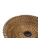 Black Walnut Pine Needle Basket - 11106