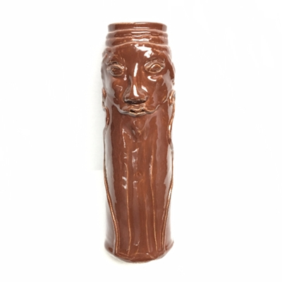 Face Vase face vase, sculpture, pottery, ceramics, ceramic vase, pottery vase,