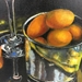 """Fruit with Wine"" Oil Painting - 6950"