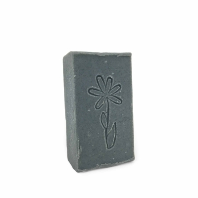 Goat Milk Facial Soap with Charcoal and Tea Tree Oil soap, goat milk soap, face soap, charcoal soap, tea tree oil