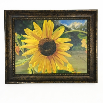 """Good Morning Sunshine"" Susan, Anderson, Good, Morning, Sunshine, Painting, Sunflower"