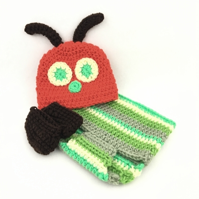 Hungry, Hungry Caterpillar Baby Outfit baby outfit, baby, crochet,