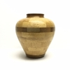 Laminated Vase: Maple/Walnut Laminated, vase, Maple, Walnut