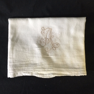 Monogrammed Flour Sack Kitchen Towels Monogrammed. Flour Sack. Kitchen. Towel. Pat McGilberry.