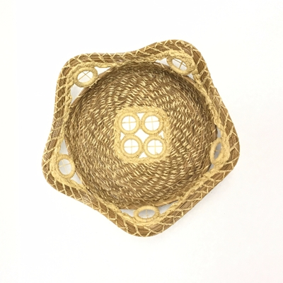 Pine Needle Soap Basket pine needle, baskets, soap,woven, maxine, hopkins