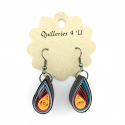 Quilled Earrings quilled earring, quilling earrings, earrings, quilling, jewelry
