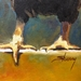 """Rooster"" Oil Painting  - 8657"