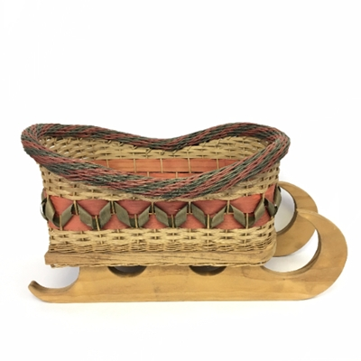 Sleigh Basket Sleigh, Basket, Betty, Bain, christmas