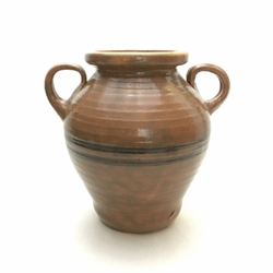 Vase with Handle pottery, ceramics, pitcher, clay, ceramic pitcher, urn, vase