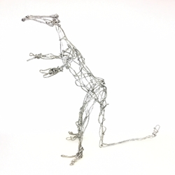 Wire Sculpture Dinosaur