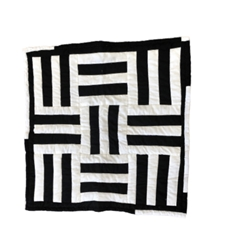 Black & White Wall Hanging Quilt