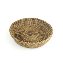 Pine Needle Basket w/ Arrow Head
