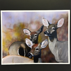 Mike Handley Print print, art for the wall, painting, wildlife, wild life