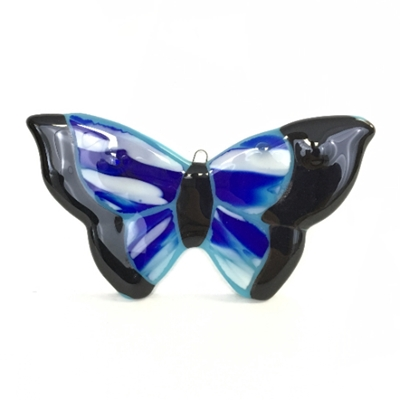 Fused Glass Butterfly glass, stained glass, glass work, fused glass, butterfly, glass butterfly
