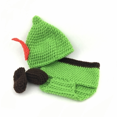 Robin Hood/Peter Pan Outfit baby outfit, baby, crochet, baby costume