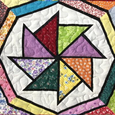 Stained Glass - Worlds Fair Quilt quilt, quilting,