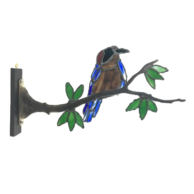 Blue Bird on a Limb
