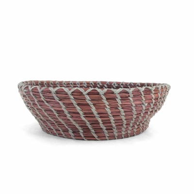 Alabama Pine Needle Basket pine needle basket, pine needle, basket, bowl, alabama, university of alabama, crimson