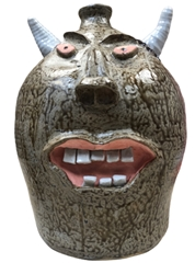 Mouthy The Face Jug